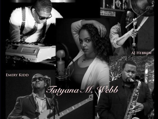 Tatyana Webb and band
