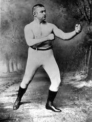 John L. Sullivan put up his dukes twice in the Magnolia State.
