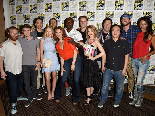 "Comic-Con International 2015 - ""Heroes Reborn"" Press Room"