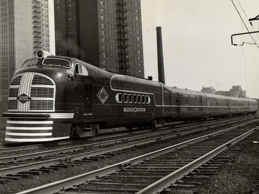"""The new at the time lightweight diesel-Powered """"Green"""