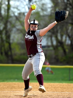 Senior pitcher Kayla Vance started the season 2-1 for the Mustangs.