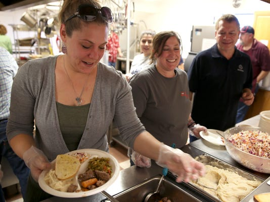 The Peace Ambassadors' Valentine's Lunch at The Daily Bread Soup Kitchen