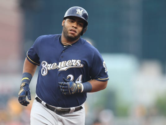 MLB: Milwaukee Brewers at Pittsburgh Pirates