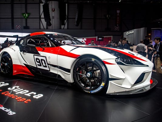 Toyota Reinvents Its Supra Sports Car - Toyota show car