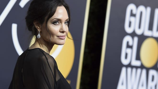 Actress Angelina Jolie is turning 45.