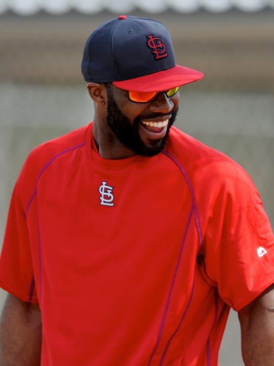 MLB: St. Louis Cardinals-Workout