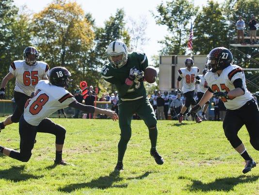 Middlebury vs. Rice Football 10/10/15