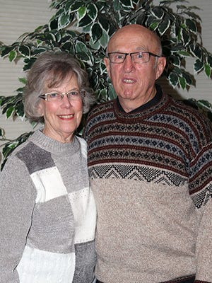 Joan and Harlan Heitman