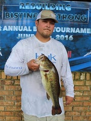 Justin Cruse finished third with 17.82 pounds and picked