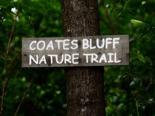 Exploring Coates Bluff Nature Trail in Shreveport.