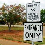 School declared gun-free zone.