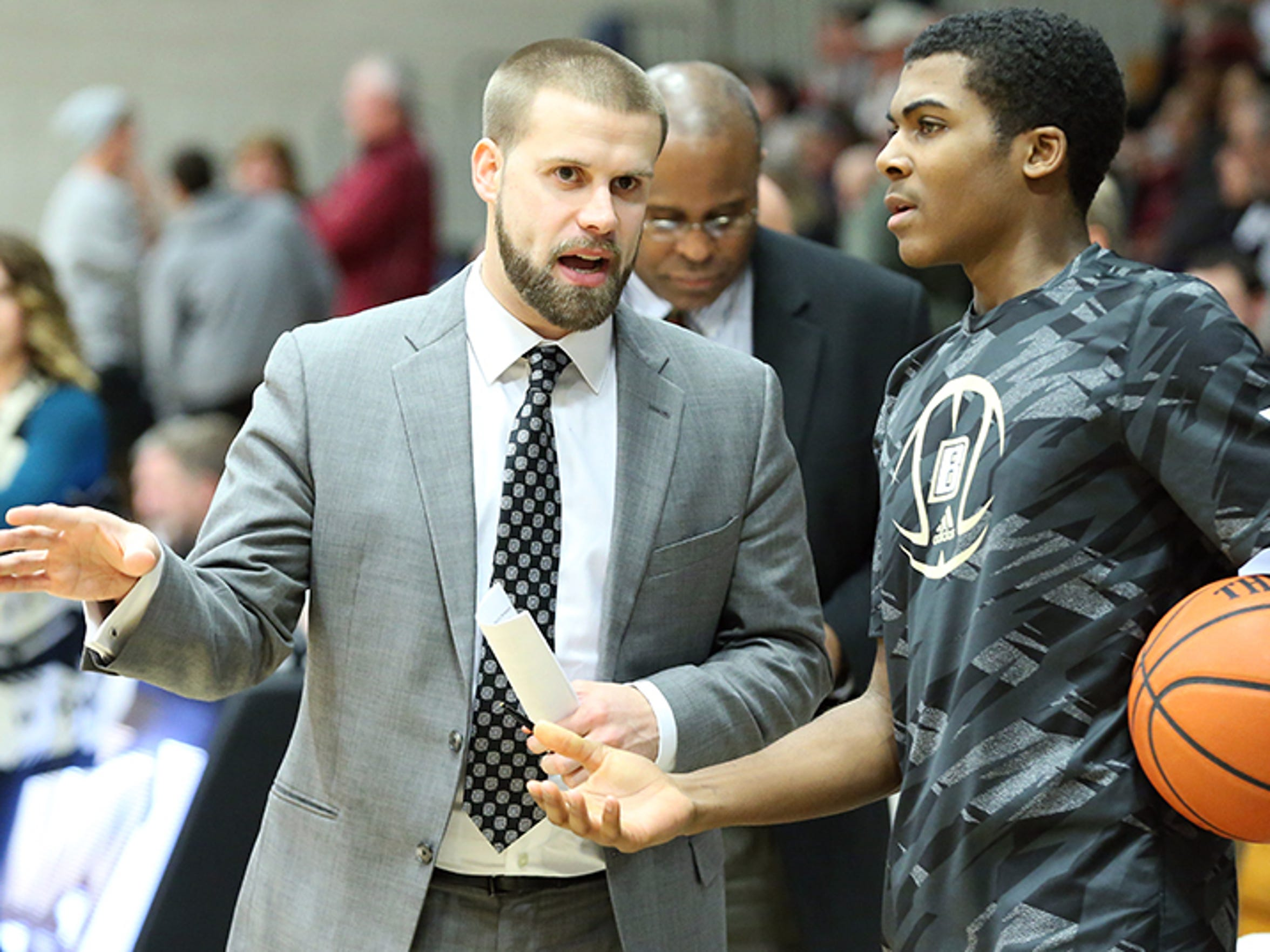 Chris Burns starred at Bryant University as a player