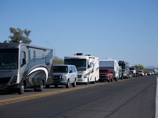 People start arriving to Country Thunder Arizona 2018,