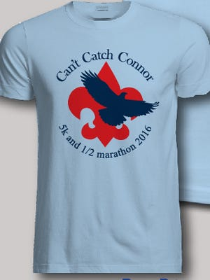 The Can't Catch Connor fundraiser race will be on May 14, starting and ending in Gateway Park in Travelers Rest,l