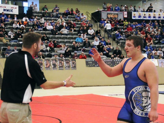 Campbell County wrestling: Favorite for title in 2014