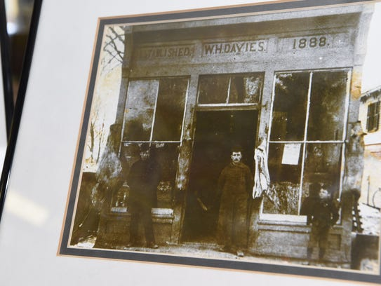 A photo showing the exterior of Davies Hardware around