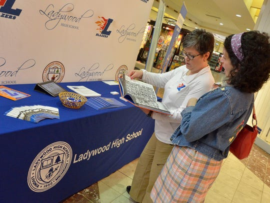 2013 Livonia Business Expo. Ladywood High School parent