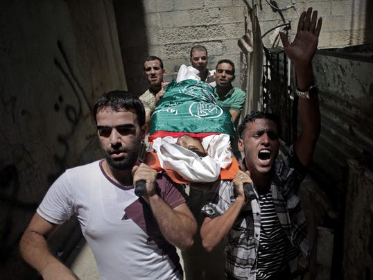 AP APTOPIX Mideast Israel Palestinians
