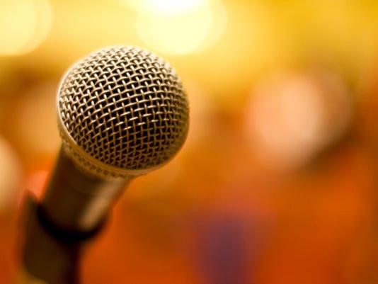 STOCKIMAGE-Microphone