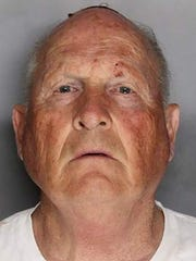 "This booking photo obtained April 26, 2018 courtesy of the Sacramento County Sheriff's Office shows suspect Joseph James DeAngelo. California authorities, after a 40-year manhunt, on April 25, 2018 announced the arrest of a 72-year-old former police officer on suspicion of being the notorious ""Golden State Killer,"" a serial rapist and murderer."