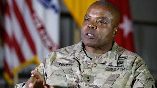 Maj. Gen. Stephen M. Twitty relinquishes command of