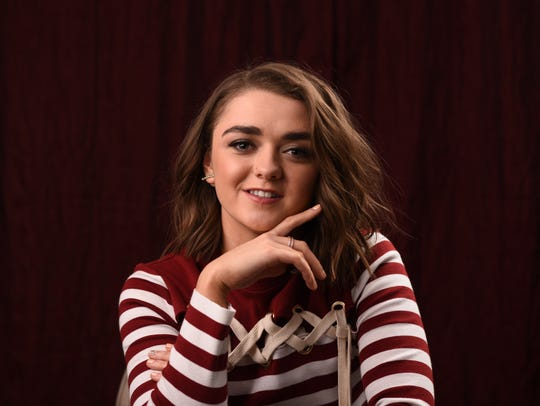 Maisie Williams portrays the younger Stark sister,