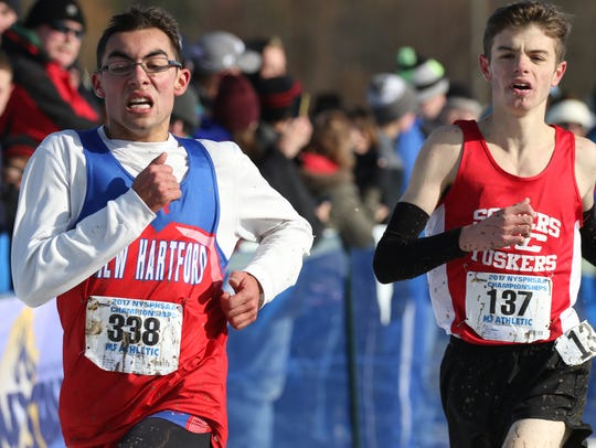 New Hartford's Josh Farmer places 9th with Matthew