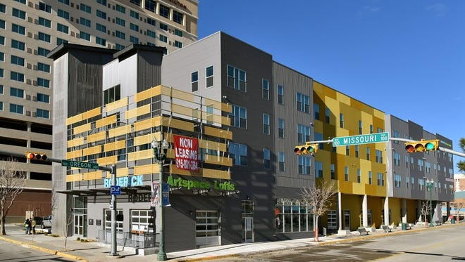 The Roderick Artspace Lofts is one of seven apartment buildings on the April 7 Downtown Living Tour organized by the El Paso Downtown Management District.