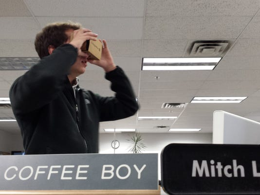 ben rodgers VR google cardboard newsroom
