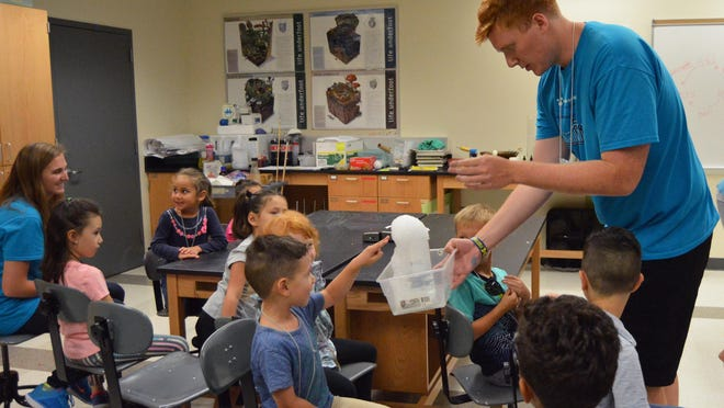 Hope College will be offering virtual and in-person science camps this month.
