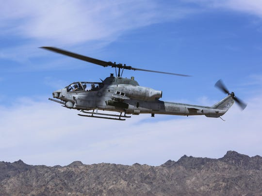 Marine Helicopter Crash