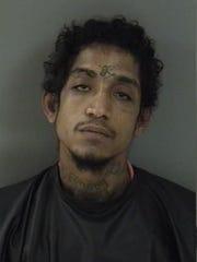 Kenric Antonio Wesley, 26, was arrested Nov. 13 in