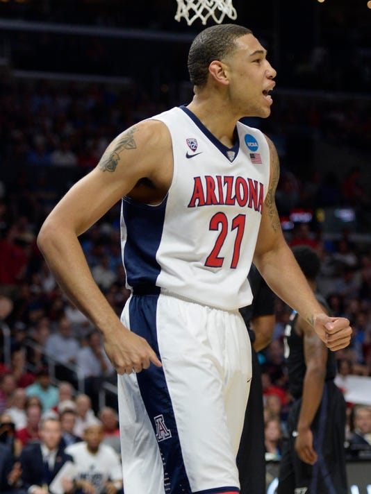 NCAA Basketball: NCAA Tournament-West Regional-Arizona vs Xavier