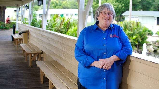 Laurilee Thompson is owner of Dixie Crossroads in Titusville.