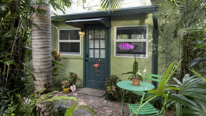 WEST PALM BEACH -- An  Airbnb in the Flamingo Park neighborhood.