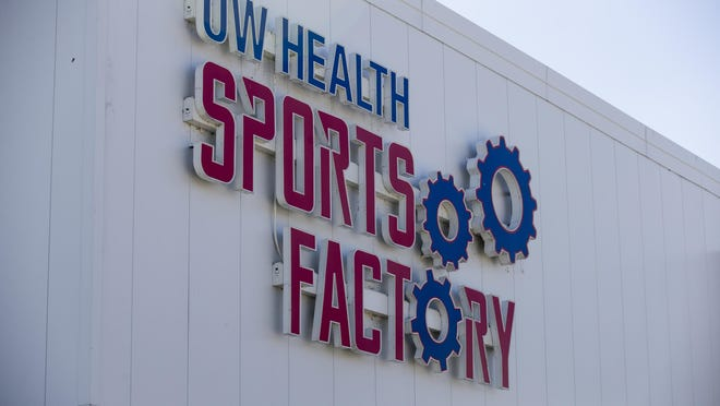 The UW Health Sports Factory, 305 S. Madison St. in Rockford is shown here on May 26, 2018.