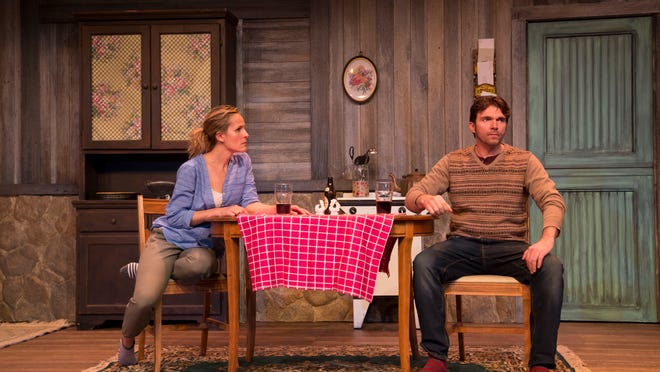 "Susannah Schulman Rogers and Sean Hayden are neighbors with a lot of history and dwindling prospects for the future in John Patrick Shanley's ""Outside Mullingar,"" on stage at Whippoorwill Hall in the North Castle Library in Armonk ."