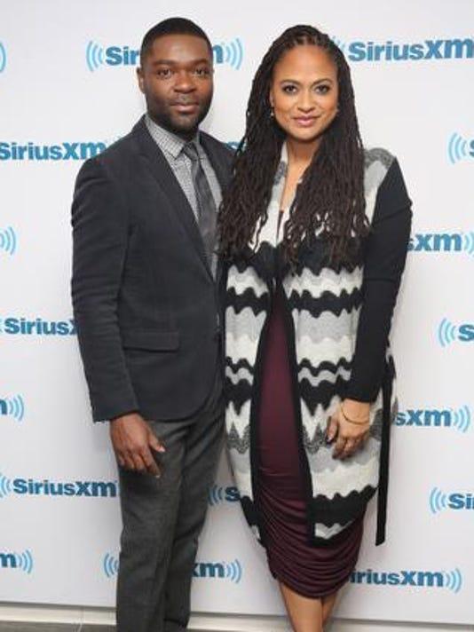 "BESTPIX: David Oyelowo And Ava DuVernay Visit The SiriusXM Studios For ""Selma: An Urban View Special"""