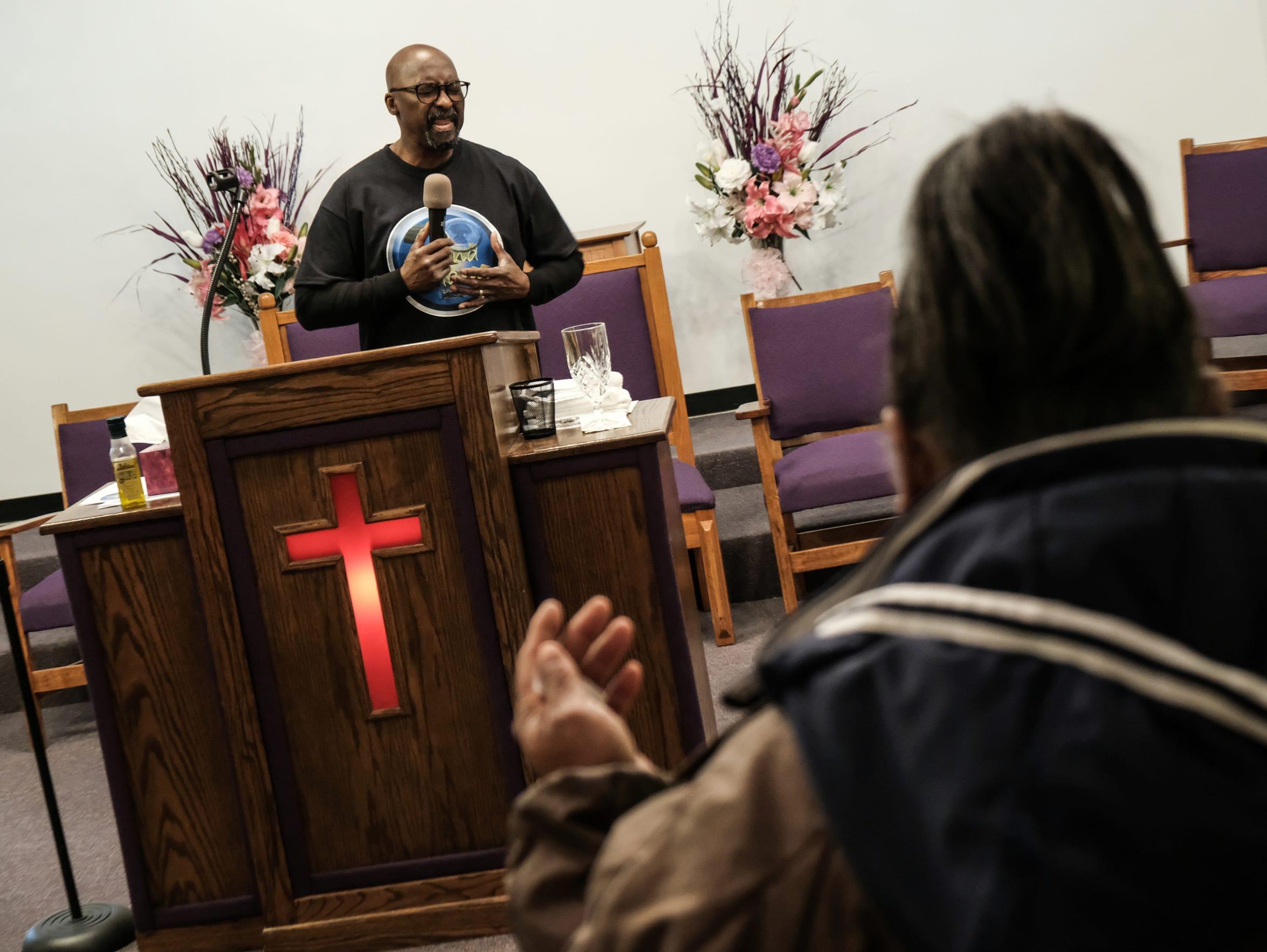 Elder Charles L. Heath Jr., pastor of 2nd Chance Christian