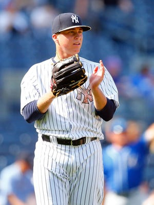 Yankees pitcher Jacob Lindgren made his major league debut on May 25 against the Royals.
