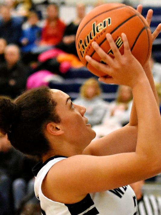 West York vs New Oxford girls basketball