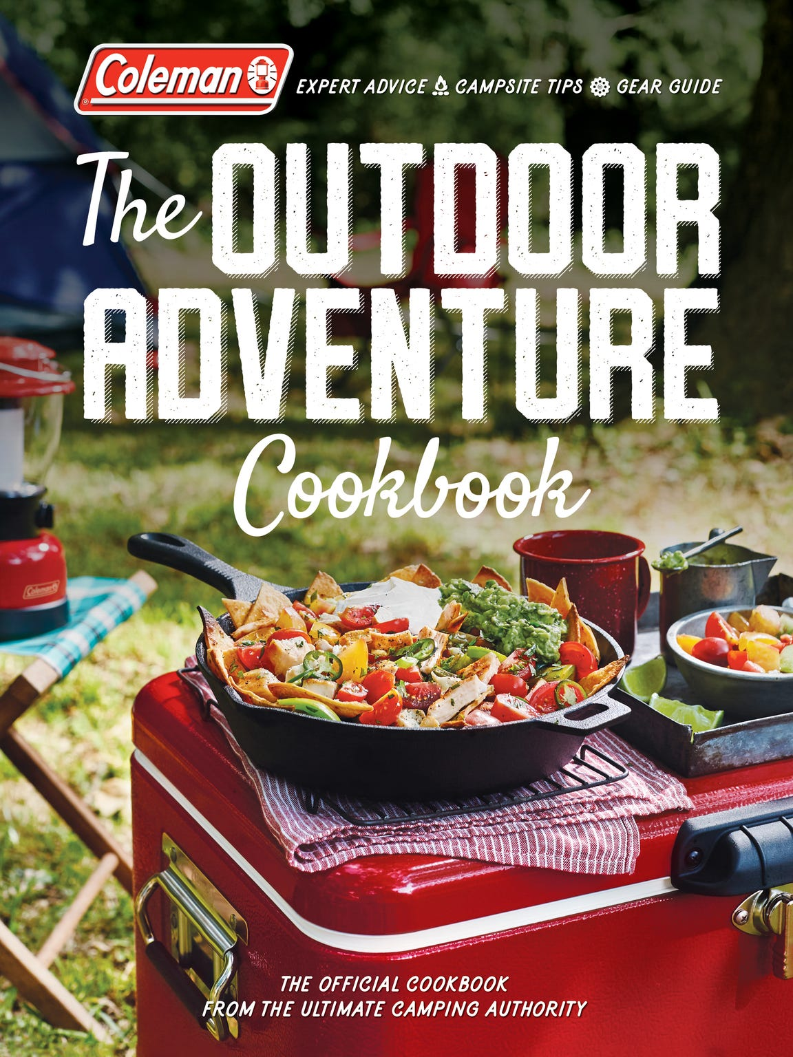 "The Mexican Street Corn Salad and Ratatouille Pizza recipes are reprinted from ""The Outdoor Adventure Cookbook"" by Coleman."