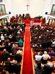 Many attend the Celebration of Life service for community