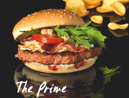 mcdonald's prime burger