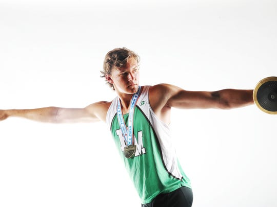 Jacob Lemmon from Fort Myers High School is a News-Press track finalist.