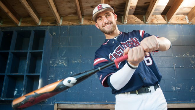 Eastern's Jack Herman is the Courier Post's Baseball Player of the Year for 2018.