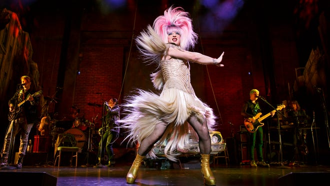"""Euan Morton as Hedwig in """"Hedwig and the Angry Inch."""""""