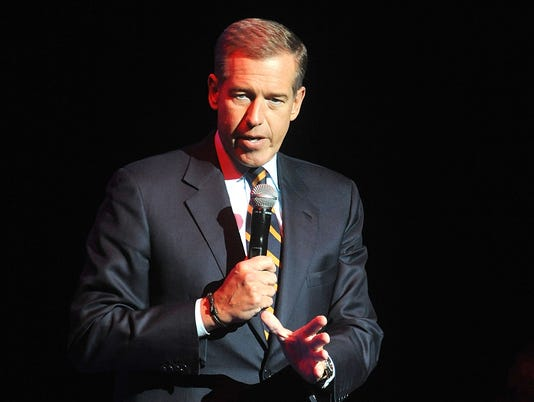AP TV-MSNBC BRIAN WILLIAMS A FILE ENT USA NY