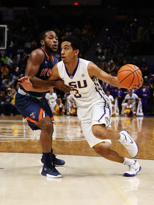 NCAA Basketball: Tenn-Martin at Louisiana State