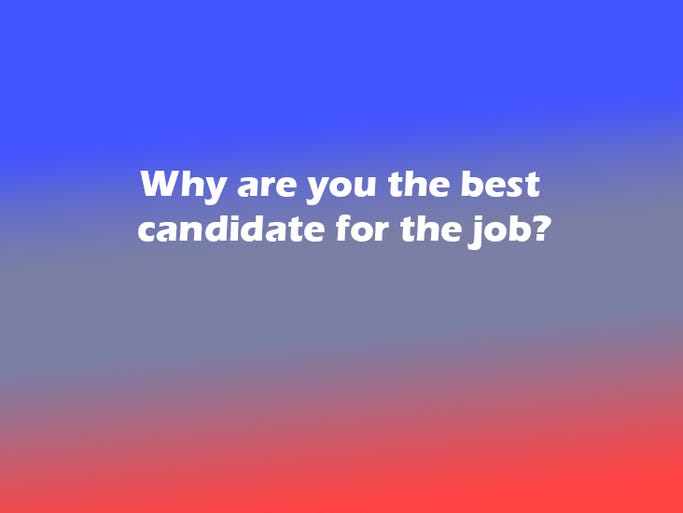 how to choose the best candidate for a job